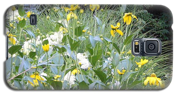 Garden Bouquet In Blue And Yellow Galaxy S5 Case by Margie Avellino
