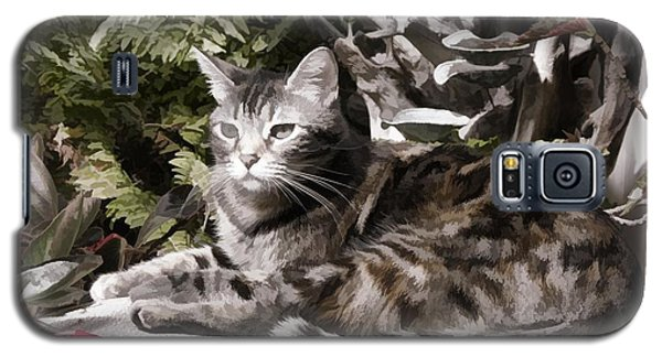 Garden Cat Galaxy S5 Case