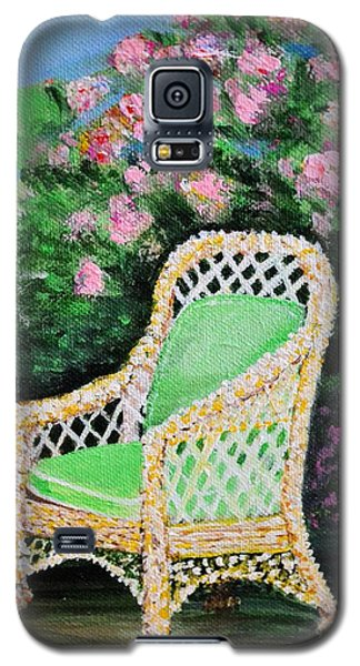 Garden Chair Galaxy S5 Case