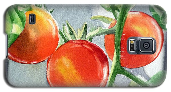 Garden Cherry Tomatoes  Galaxy S5 Case