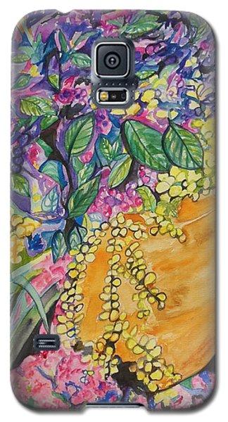Garden Flowers In A Pot Galaxy S5 Case