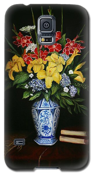 Garden Flowers  Galaxy S5 Case by Sandra Nardone