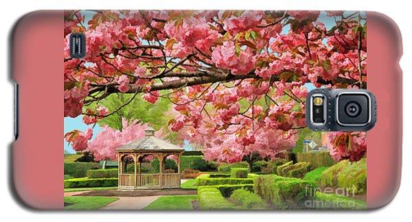 Garden Gazebo Galaxy S5 Case