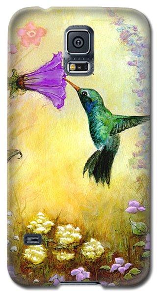 Garden Guest In Brown Galaxy S5 Case