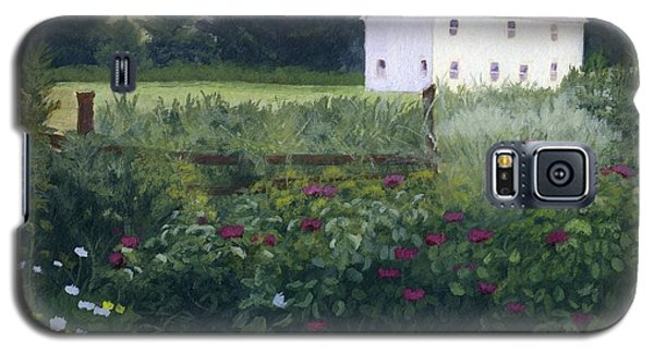Garden In The Back Galaxy S5 Case by Lynne Reichhart
