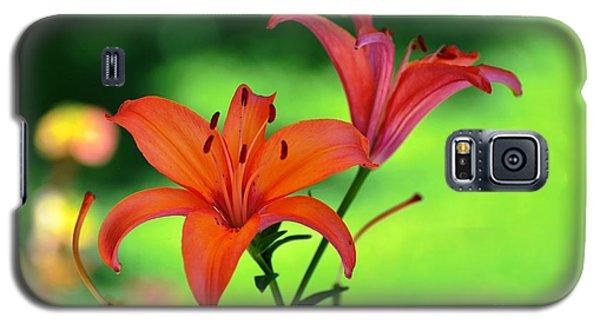 Garden Lilies Galaxy S5 Case