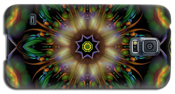 Galaxy S5 Case featuring the digital art Garden Of Destinasia by Rhonda Strickland