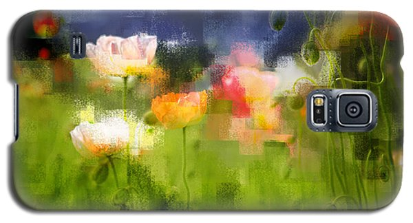 Garden Of Poppies Galaxy S5 Case by Linde Townsend