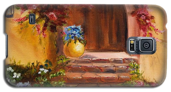 Garden Of Serenity Galaxy S5 Case by Jenny Lee