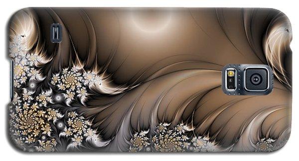 Galaxy S5 Case featuring the digital art Garden Of The Future by Gabiw Art