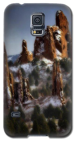 Galaxy S5 Case featuring the photograph Garden Of The Gods by Ellen Heaverlo