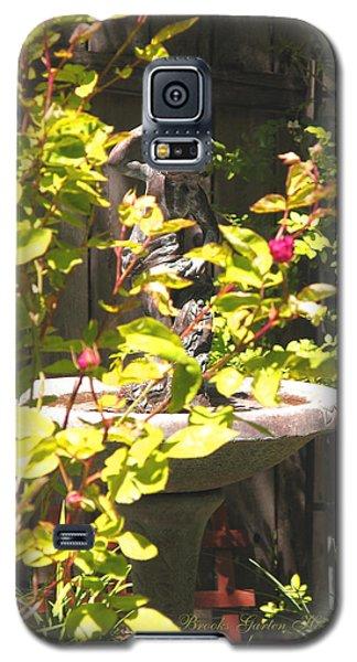 Galaxy S5 Case featuring the photograph Garden Sanctuary by Brooks Garten Hauschild