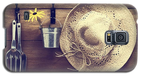 Garden Galaxy S5 Case - Garden Shed by Amanda Elwell