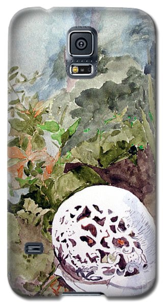 Garden Snail Galaxy S5 Case by Sandy McIntire