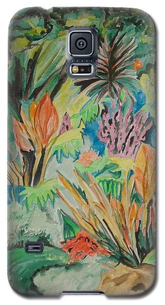 Garden Splendor Galaxy S5 Case by Esther Newman-Cohen