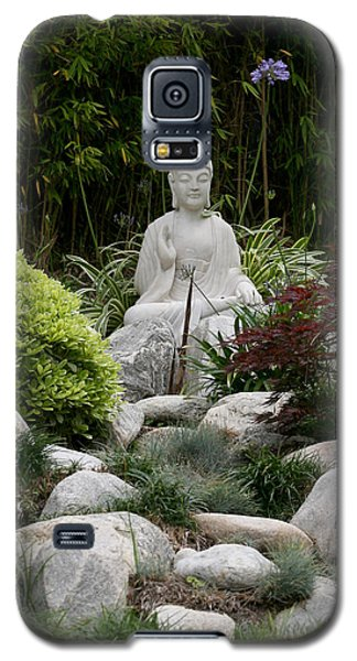 Garden Statue Galaxy S5 Case by Art Block Collections