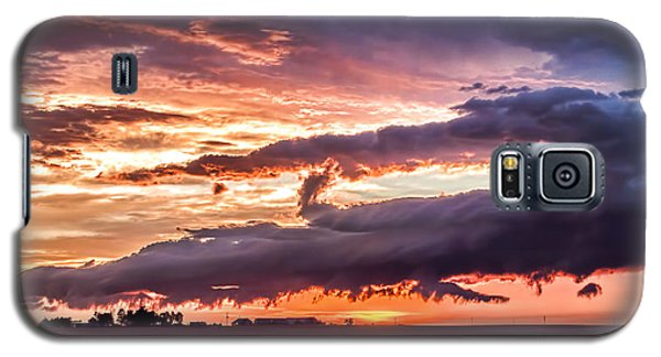 Garden Sunset Galaxy S5 Case