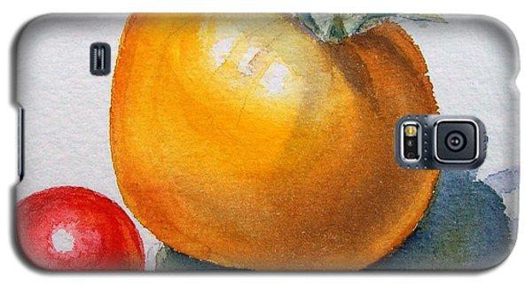 Garden Tomatoes Galaxy S5 Case by Irina Sztukowski