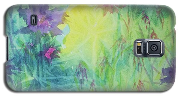 Garden Vortex Galaxy S5 Case by Ellen Levinson