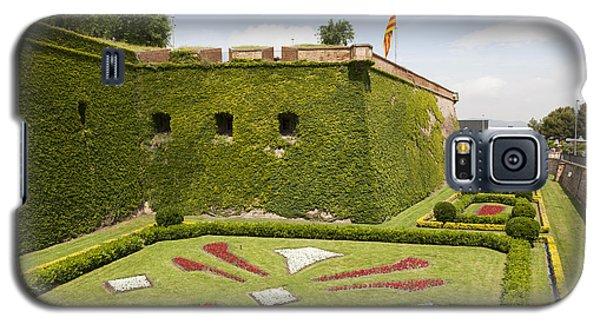 gardens around Montjuic Castle in Barcelona Galaxy S5 Case