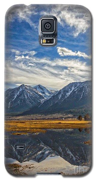 Gardnerville Nevada Galaxy S5 Case by Mitch Shindelbower