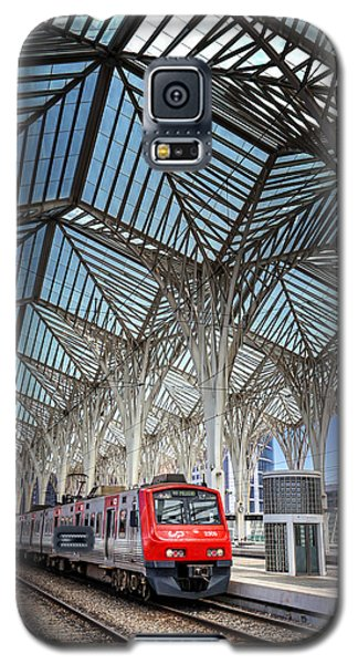 Gare Do Oriente Lisbon Galaxy S5 Case by Carol Japp