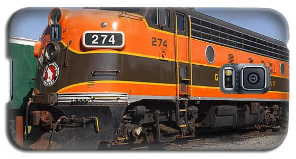 Garibaldi Locomotive Galaxy S5 Case by Wes and Dotty Weber