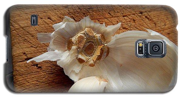 Galaxy S5 Case featuring the digital art Garlic Is Life by Aliceann Carlton