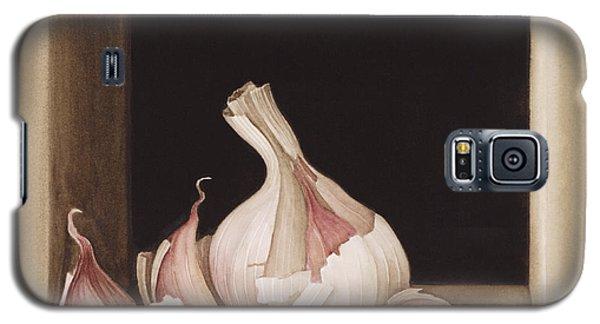 Garlic Galaxy S5 Case by Jenny Barron