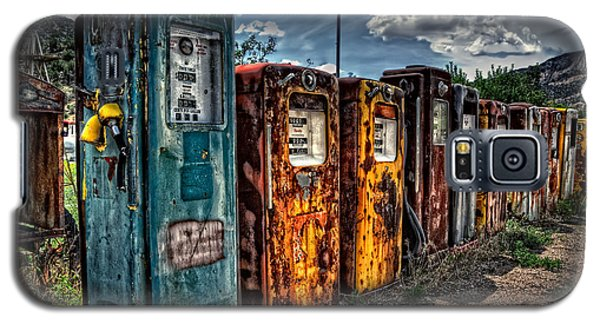 Galaxy S5 Case featuring the photograph Gasoline Alley by Ken Smith