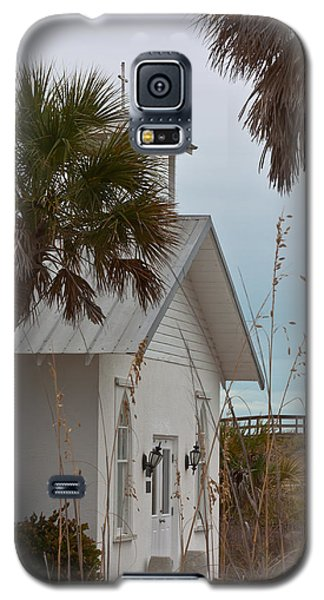 Galaxy S5 Case featuring the photograph Gasparilla Island State Park Chapel by Ed Gleichman