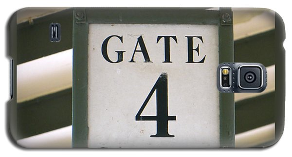 Galaxy S5 Case featuring the photograph Gate #4 by Joy Hardee