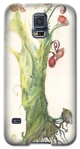 Gate Goddess Of Forest Nautica Galaxy S5 Case