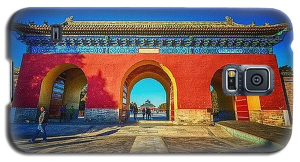Sunny Galaxy S5 Case - Gate To Imperial Walkway In Temple Of by Sunny Merindo