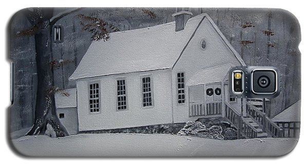 Gates Chapel - Ellijay - Signed By Artist Galaxy S5 Case