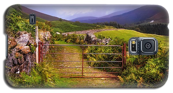 Gates On The Road. Wicklow Hills. Ireland Galaxy S5 Case by Jenny Rainbow