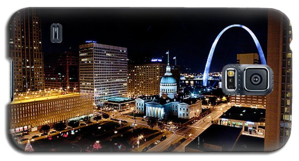 Gateway Arch St Louis Night Galaxy S5 Case