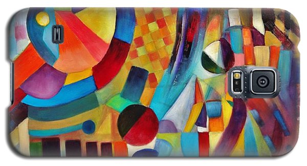 Galaxy S5 Case featuring the painting Gateway by Jason Williamson