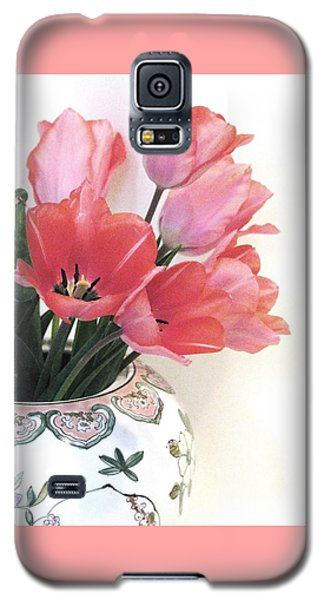 Gathered Tulips Galaxy S5 Case by Angela Davies