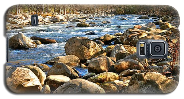 Gatlinberg River Galaxy S5 Case by Donald Williams