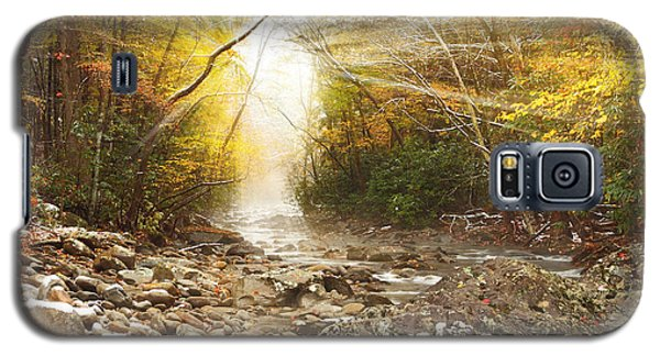 Gatlinburg Trail In Snow Galaxy S5 Case