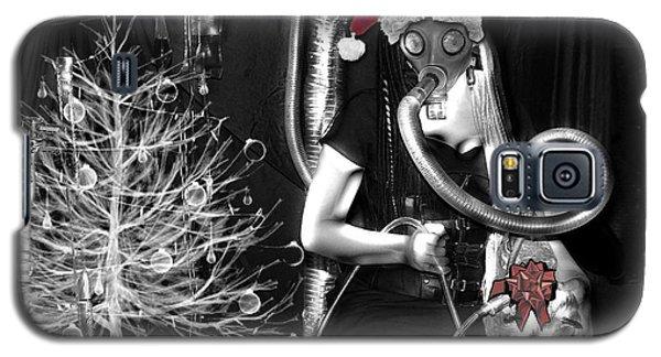 Partage Le Masque A Gaz De Lapin 19 X Mas Version Galaxy S5 Case by Tarey Potter
