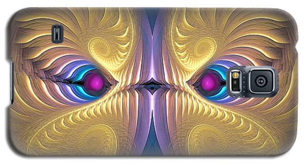 Gaze - Surrealism Galaxy S5 Case by Sipo Liimatainen