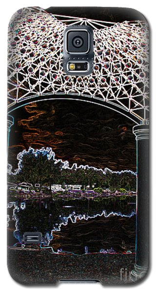 Galaxy S5 Case featuring the photograph Gazebo 2 by Minnie Lippiatt