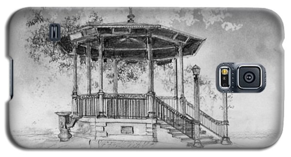 Galaxy S5 Case featuring the drawing Gazebo The Villages by Jim Hubbard