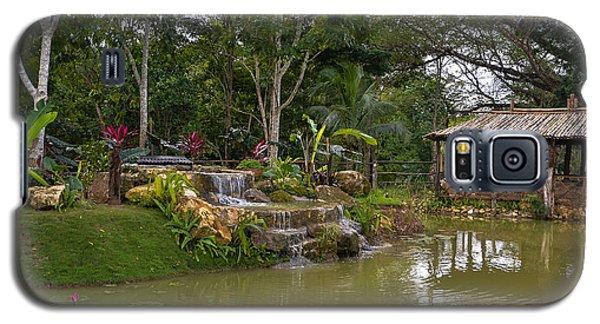 Gazebo View Good Hope Estate Jamaica Galaxy S5 Case