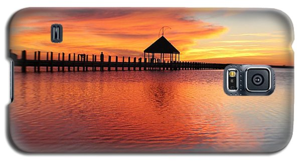 Gazebo's Sunset Reflection Galaxy S5 Case