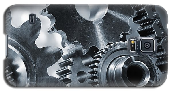 Gears Cogs And Chains Galaxy S5 Case