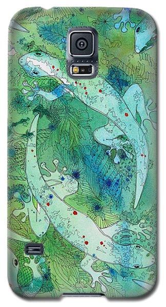 Geckos At Play Galaxy S5 Case