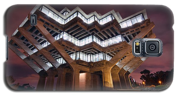 Geisel Library Galaxy S5 Case by Eddie Yerkish